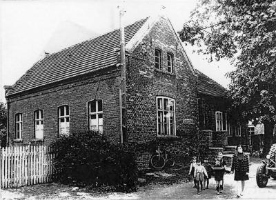 Alte Schule in der Schulstraße ca.1920