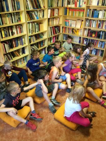 Abenteuerspaß in der Bibliothek