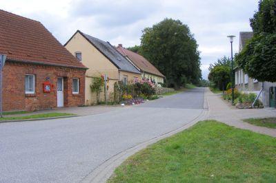 Dorfstraße nach Drenkow