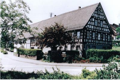 Das Rathaus in Dietersweiler