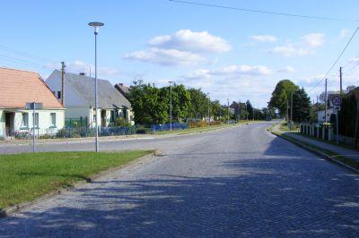 Straße nach Perleberg