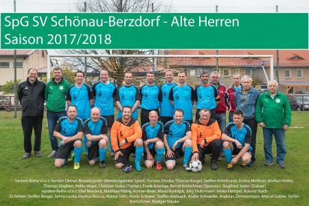 Senioren SpG SV Schönau- Berzdorf/ Eigenscher FV 03 Bernstadt/ Dittersbach