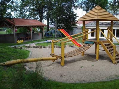 Spielplatz der Kita Zwergenland