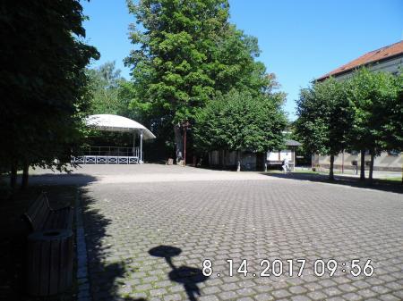 Stadtlengsfeld - Burgplatz mit Freilichtbühne