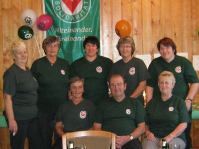 Die Mitglieder der Volkssolidarität, Ortsgruppe Hermannsfeld