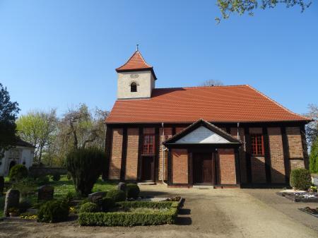 Kirche Wulkow Foto: Info Punkt Lebus