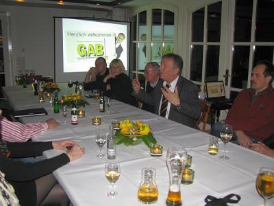 Foto zur Meldung: Unternehmerstammtisch am 09.02.2010
