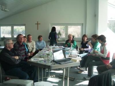 Foto zur Meldung: Gemeindekirchenrats-Klausurtagung in Woltersdorf