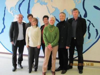 Foto zur Meldung: Zweites Projekttreffen der Comenius-Lehrkräfte in Jade