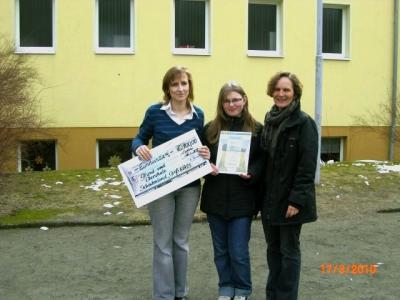Foto zu Meldung: Grund –und Oberschule Schenkenland in Groß Köris gewinnt 3. Preis beim Plakatwettbewerb