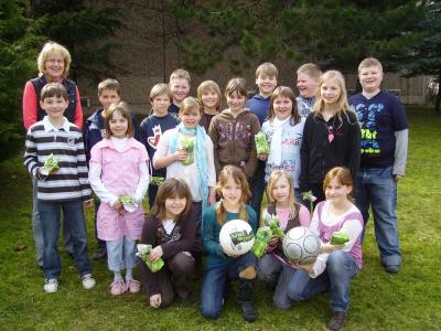 Foto zur Meldung: Frühlingsprojekt in der Grundschule vom 22.3. - 24.3.2010