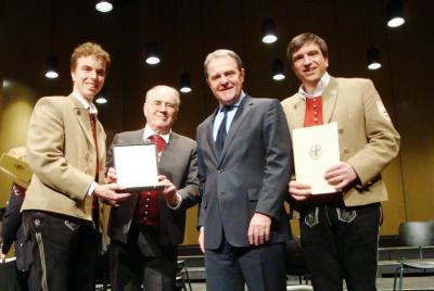 "Vorschaubild zur Meldung: Bundespräsident Köhler ehrt Musikverein ""Frohsinn"" Lindenberg"