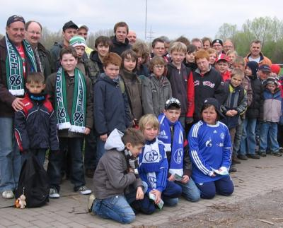 Foto zur Meldung: FCH-Jugend beim Bundesligaspiel