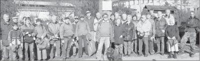 """Foto zu Meldung: Rege Teilnahme bei Aktion """"Sauberer Wald"""", illegale Müllkippen leider vielerorts:   Elbingeröder räumen den Wald auf – über 40 Autoreifen entsorgt"""