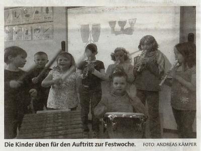 Foto zur Meldung: Artikel in der Zeitung