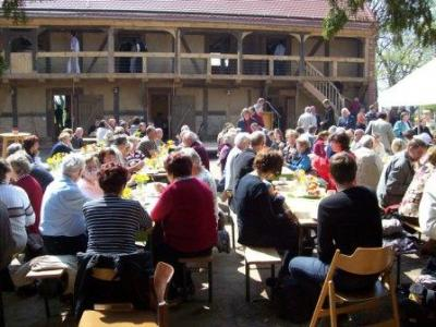 Foto zur Meldung: Eröffnung des Begegnungszentrums Oberlaubenstall