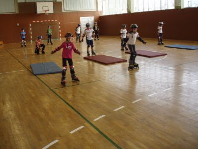 Foto zur Meldung: Skaterlehrgang 2010