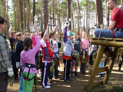 Foto zu Meldung: Erlebnisreicher Wandertag (Grund- und Oberschule Schenkenland)