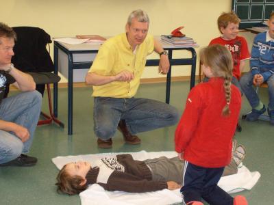 Foto zur Meldung: Erste-Hilfe-Kurs