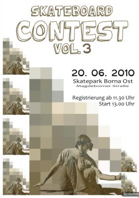 Foto zur Meldung: Skateboardcontest Vol. 3  & mehr --> am 20.06. 2010 in Borna