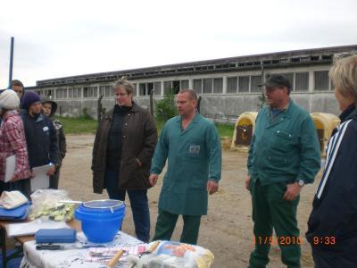 Foto zur Meldung: Zu Besuch in Bälow