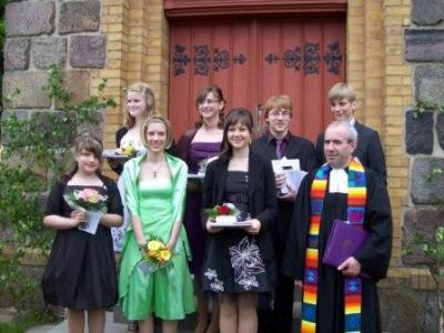 Foto zu Meldung: Konfirmation in Langenlipsdorf