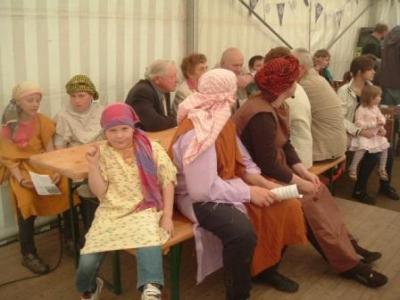 Foto zur Meldung: Gemeindefest in Borgisdorf