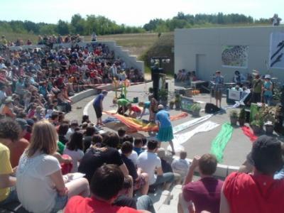 Foto zur Meldung: Fahrt zum Landesjugendcamp in Boxberg