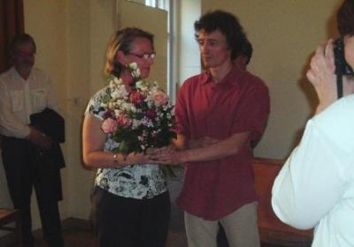 Foto zu Meldung: Superintendentin Katharina Furian wiedergewählt