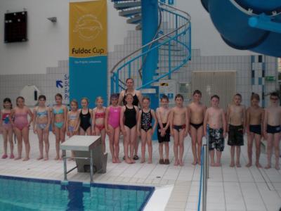 Foto zur Meldung: Erfolgreicher Abschluss des Schwimmkurses