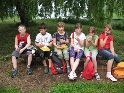 Foto zur Meldung: Klassenfahrt Klasse 4a