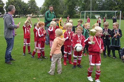 Foto zur Meldung: Die G-Junioren siegt beim Extaler-Cup des SC Rinteln