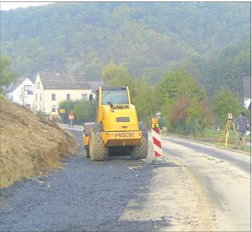 Foto zur Meldung: Land fördert Ausbau der Kreisstraße 64