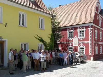 Foto zur Meldung: Senioren besuchten Kallmünz