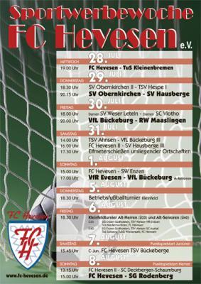 Foto zur Meldung: Sportwoche 2010 des FC Hevesen