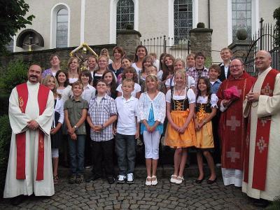 Foto zur Meldung: Firmung in Prackenbach
