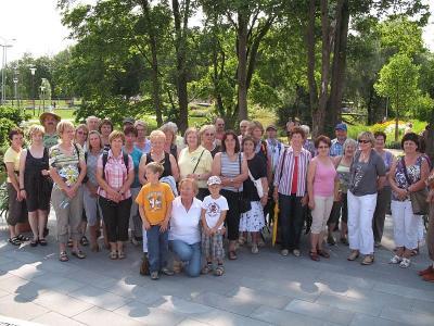 Foto zu Meldung: Die Gartler in der Landesgartenschau in Rosenheim