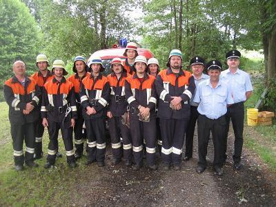 Foto zur Meldung: Feuerwehr im Ausbildungsfieber