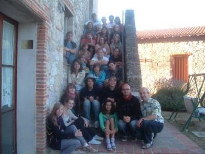 Foto zu Meldung: Jugendliche von der Sommerfahrt nach Italien zurück