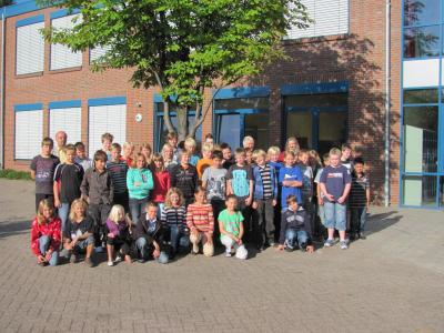 Foto zur Meldung: Begrüßung der neuen Schülerinnen und Schüler der fünften Klassen