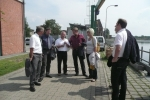 Foto zur Meldung: Bundestagsabgeordneter auf Elbe Sommertour