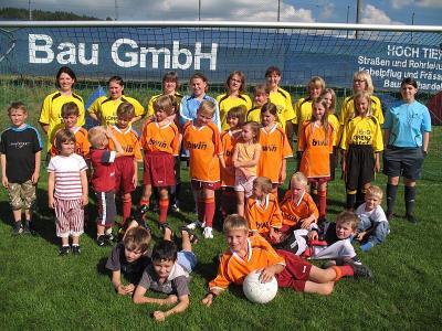 Foto zur Meldung: Saisonabschlussfeier bei den E und F-Junioren