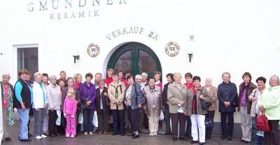 Foto zur Meldung: Der Frauenbund reiste nach Gmunden ins schöne Salzkammergut