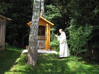 Foto zur Meldung: Kapelle zum Hl. Josef geweiht