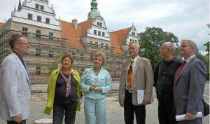 Foto zur Meldung: Schloss Doberlug ist Markenzeichen für die Niederlausitz