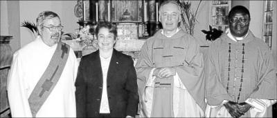 Foto zu Meldung: Katholische Kirche: Gemeindereferentin wird ins Amt eingeführt