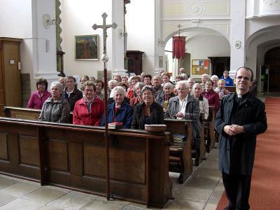 Foto zur Meldung: Seniorenausflug in die Straubinger Gegend