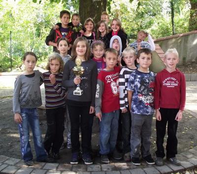 """Foto zu Meldung: Die Schüler der Grundschule """"Teupitz am See"""" gewannen den Schenkenlandpokal"""