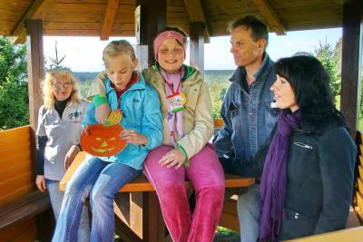 Vorschaubild zur Meldung: Kürbisfest der Kita in Hayn