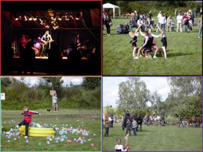 Foto zur Meldung: Gelungener Start des BANDivals & Familientags in Werchow